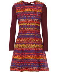 Matthew Williamson Multicolor Jacquard Dress - Lyst