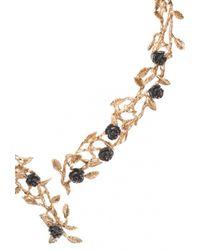 Bernard Delettrez Chez Carré Y. | Rose Garden Brass Necklace | Lyst