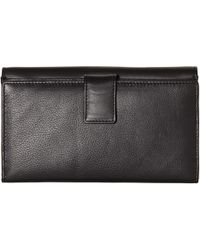 Modalu - Erin Leather Flap Over Matinee Purse - Lyst