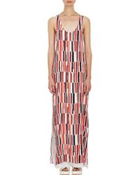 Edun Abstract Geo Long Tank Dress - Lyst