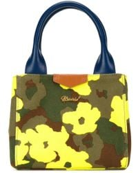 MUVEIL - Mini Floral Camouflage Print Tote - Lyst
