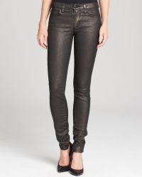 Joe's Jeans Ainsley Mid Rise Skinny in Bronze - Lyst
