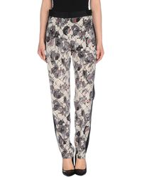 DKNY Casual Trouser gray - Lyst