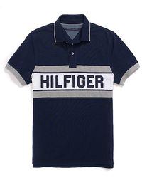Tommy Hilfiger Custom Fit Hilfiger Polo - Lyst