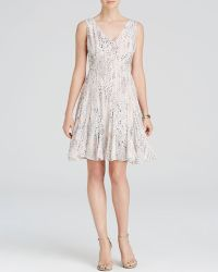 Rebecca Taylor Dress - Summer Leopard white - Lyst