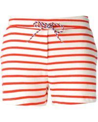 Petit Bateau - Striped Drawstring Shorts - Lyst
