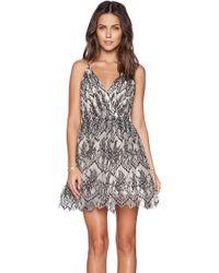 Alice + Olivia Cara Flared Dress - Lyst