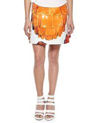 Risto - Doppio Printed A-line Skirt - Lyst