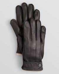 Theory - Dirbran Deerskin Gloves - Lyst