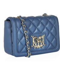 Love Moschino Mini Chain Fold Over Bag - Lyst