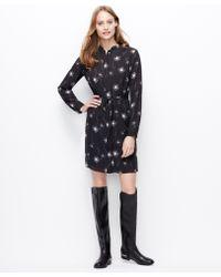 Ann Taylor Tall Dandelion Print Shirtdress - Lyst
