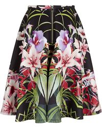 Ted Baker Hotley Mirrored Tropics Full Skirt - Lyst