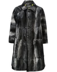 DSquared2 Tie-dye Coat - Lyst