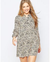 Family Affairs - First Snow Dress - Leopard - Lyst