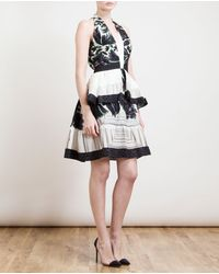 Peter Pilotto Amanda Tiered Silkblend Dress - Lyst