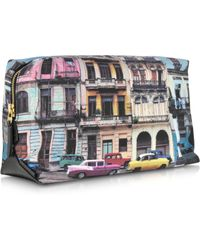 Paul Smith Havana Print Men'S Wash Bag - Lyst