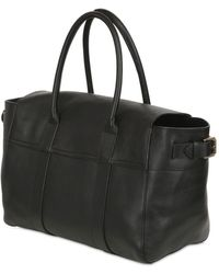 Mulberry Bayswater Buckled Leather Top Handle Bag - Lyst