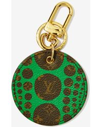 Louis Vuitton | Vintage X Yayoi Kusama Monogram Pumpkin Dots Leather Key Holder | Lyst