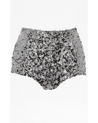 French Connection Cosmic Sparkle Short - Lyst