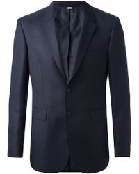 Burberry Two Button Blazer - Lyst