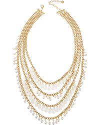 R.j. Graziano - Multi-strand Tiered Necklace - Lyst