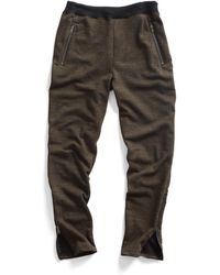 Todd Snyder Terry Running Pant brown - Lyst
