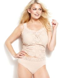 Hanky Panky Plus Size Signature Lace Camisole - Lyst