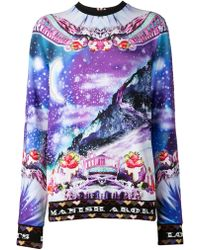 Manish Arora Landscape Graphic Shirt - Lyst