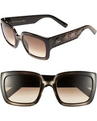 Dior Women'S 'My - Special Fit' 53Mm Sunglasses - Dove Gray Spiegal - Lyst
