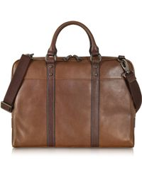 Fossil - Estate Leather Document Bag - Lyst