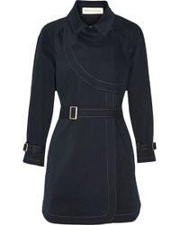 Rebecca Minkoff - Cece Belted Cotton-blend Coat - Lyst