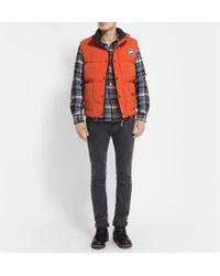 Frame Denim Vinnodh Slim-fit Washed-denim Jeans - Lyst