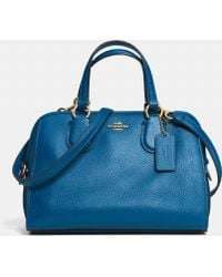 Coach Mini Nolita Satchel In Leather - Lyst
