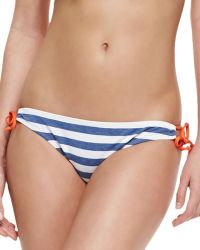 Splendid Tunnel Striped Tie Side Swim Bottom - Lyst