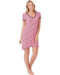 DKNY Graphic Print Sleep Shirt - Lyst