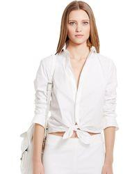 Ralph Lauren Black Label Slim-Fit Rachel Shirt - Lyst