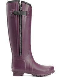 Rag & Bone Hunter Tall Burgundy - Lyst