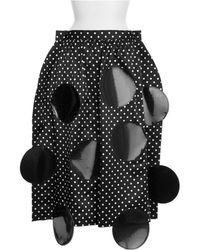 Junya Watanabe Skirt black - Lyst