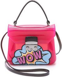 Furla Graffiti Candy Bon Bon Mini Cross Body Bag - Hot Pink pink - Lyst