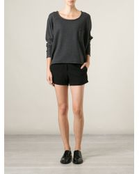 American Vintage Chest Pocket Sweatshirt - Lyst