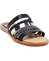 DV by Dolce Vita Flat Slide Sandals - Nalaa - Lyst