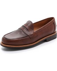 Mark McNairy New Amsterdam - Buttseam Penny Loafers - Lyst