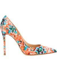 Mary Katrantzou Lisa Orange Ponker - Lyst