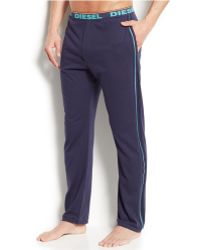 Diesel Men'S Massi J Slim-Fit Lounge Pants blue - Lyst
