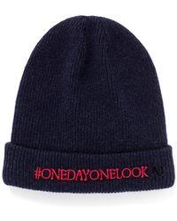 Maison Michel 'One Day One Look' Rib Wool Beanie - Lyst