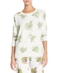 All Things Fabulous - 'tree Friends' Print Pullover - Lyst