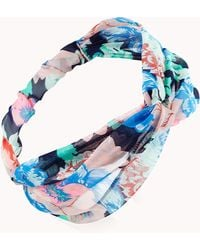 Forever 21 - Splashy Floral Knotted Headwrap - Lyst