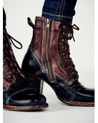 Free People Miner Lace Boot - Lyst