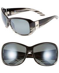 Kaenon - 'maywood' 64mm Polarized Sunglasses - Smoke And Mirrors - Lyst