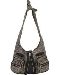 Alexander Wang Leopard-print Donna Shoulder Bag - Lyst